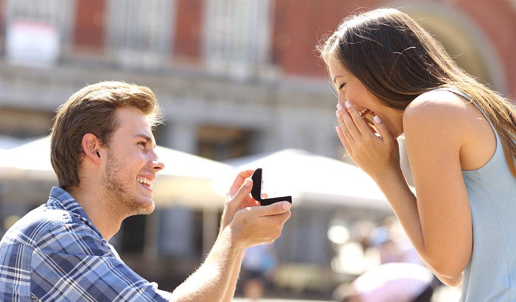 Der perfekte Hochzeitsantrag