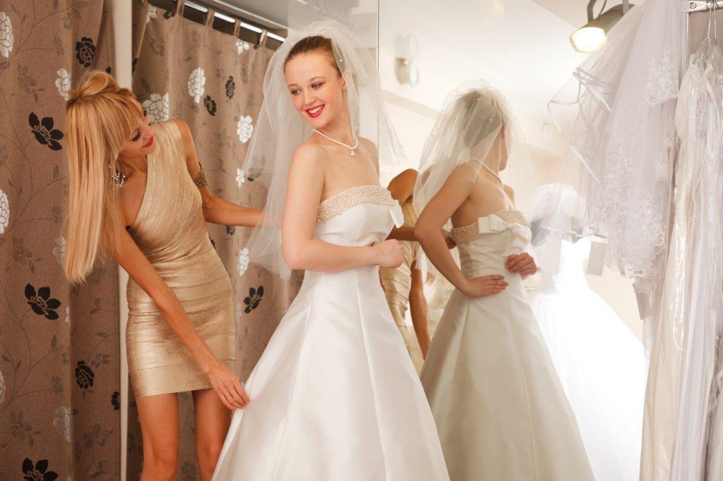 Shoppingberatung Hochzeitskleid