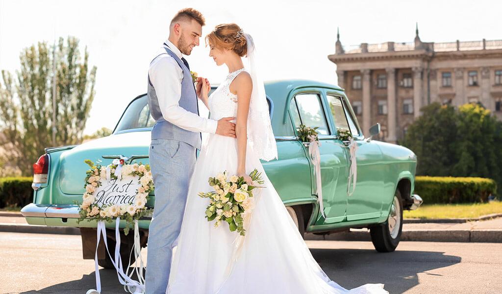 Hochzeitsauto - so gelingt Eure Fahrt ins Glück