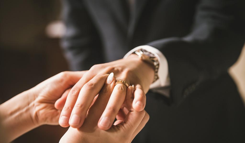 Der Verlobungsring für den Mann