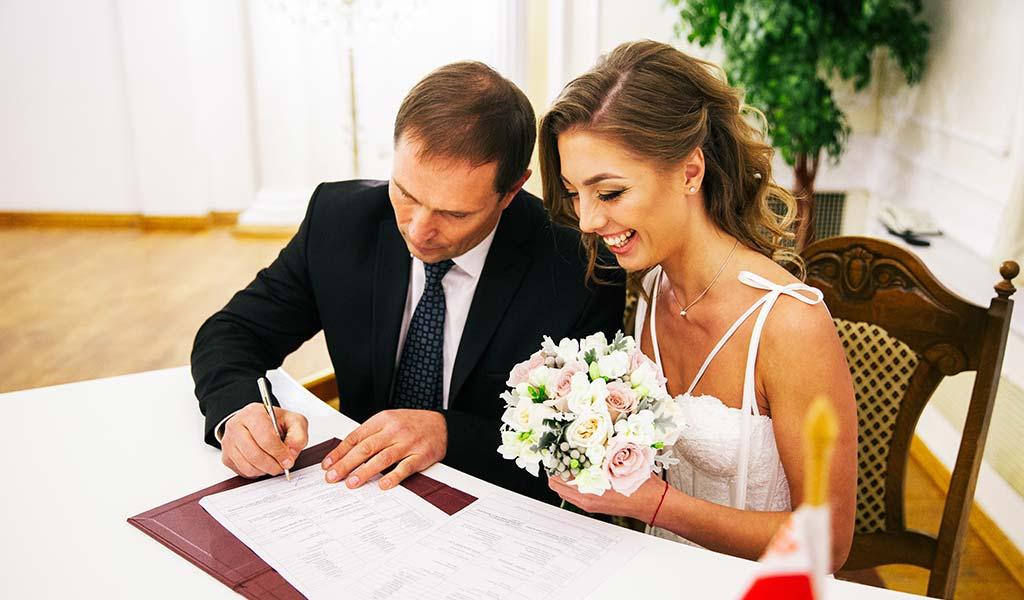 Cómo organizar una boda civil, paso a paso