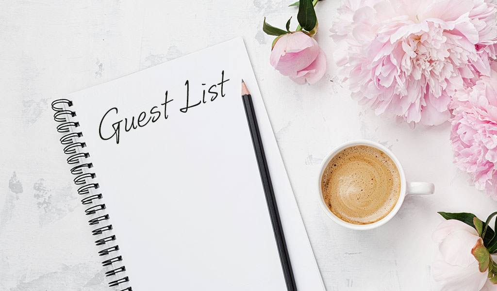 Organising Your Wedding Guest List Like a Pro
