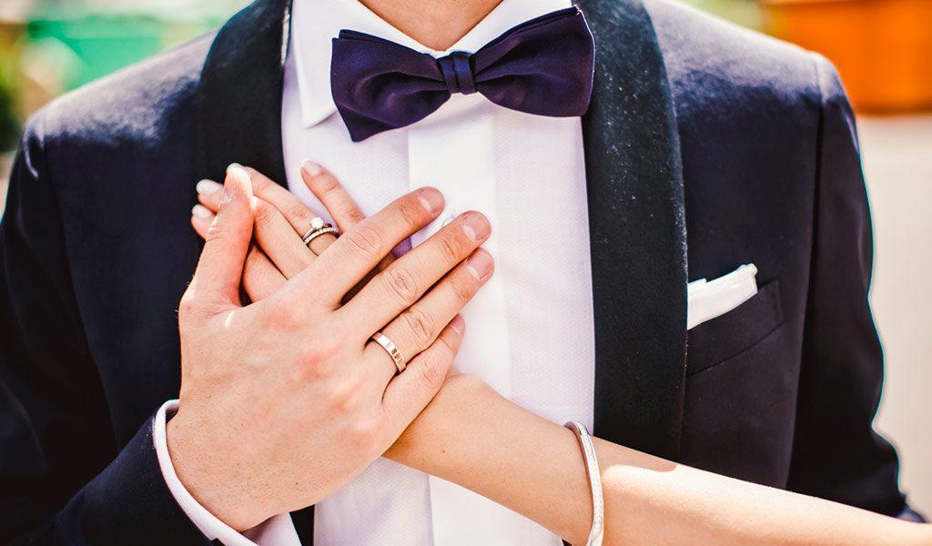 bespaar niet op je trouwringen